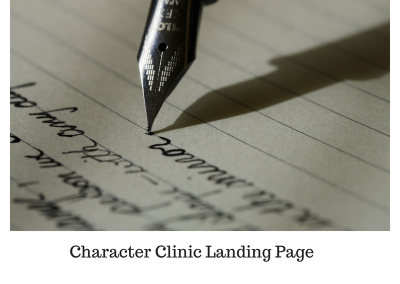 Character Clinic Landing Page
