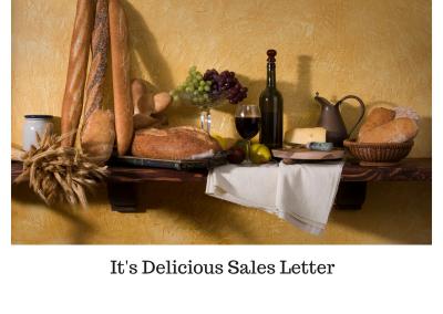 It's Delicious Sales Letter