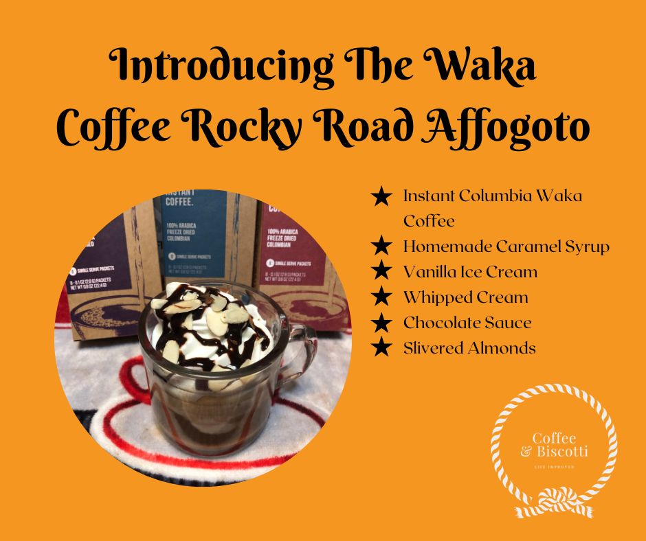 Waka Coffee Rocky Road Affogato